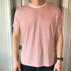 Other - Red & white striped t-shirt